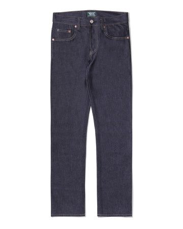 POT MEETS POP / CHEECH AND CHONG - TIEDSTICK DENIM PANTS INDIGO