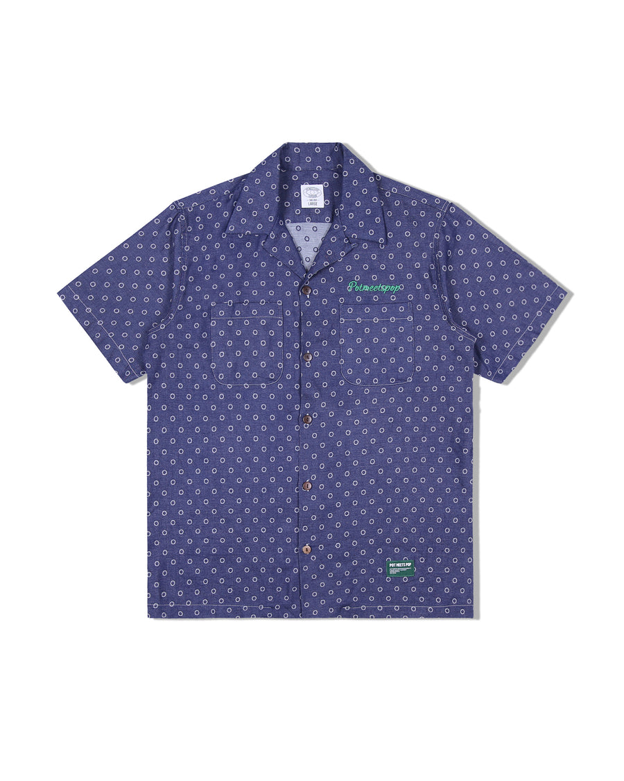 CHAMP CHAMP DENIM SHIRT POLKA DOT S/S 20