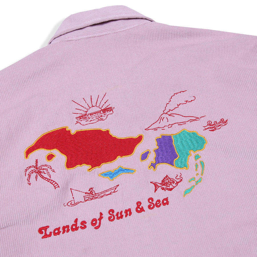 SEA AND SUN CORDUROY SOUVENIR JACKET PINK S/S 20