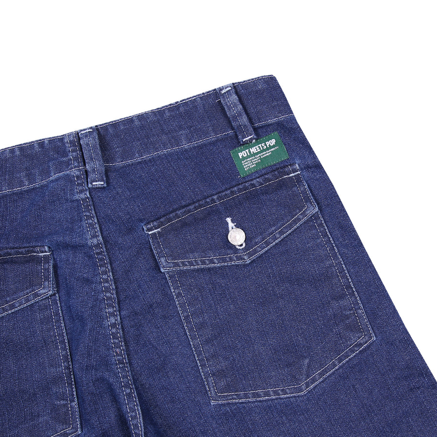FATTY FATIGUE PANT DENIM WASHED S/S 20
