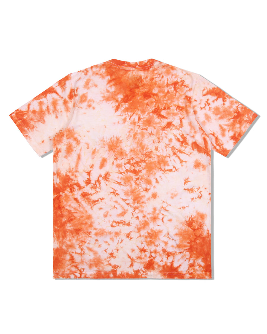 LOGO TEE TIE-DYE ORANGE S/S 20