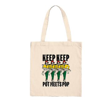 KEEP KEEP X POT MEETS POP TOTEBAG