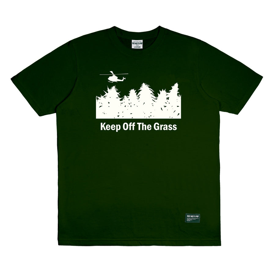 KEEP OFF THE GRASS GREEN F/W 19