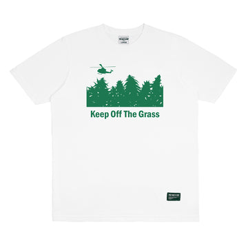 KEEP OFF THE GRASS WHITE F/W 19