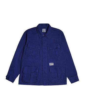 OZ ARMY SLANTED POCKET BLUE S/S 19