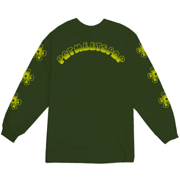 SOUL FLOWER L/S FOREST GREEN F/W 20