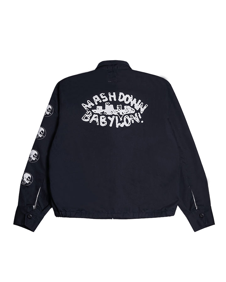 BUBBA SOUVENIR JACKET NAVY S/S 19