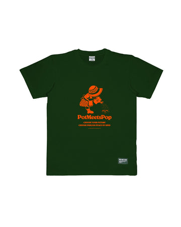 GROWN PEACE TEE GREEN