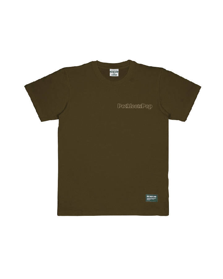 CHOOSE PEACE TEE BROWN S/S 19