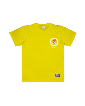 PEACE DEPARTEMENT TEE YELLOW S/S 19