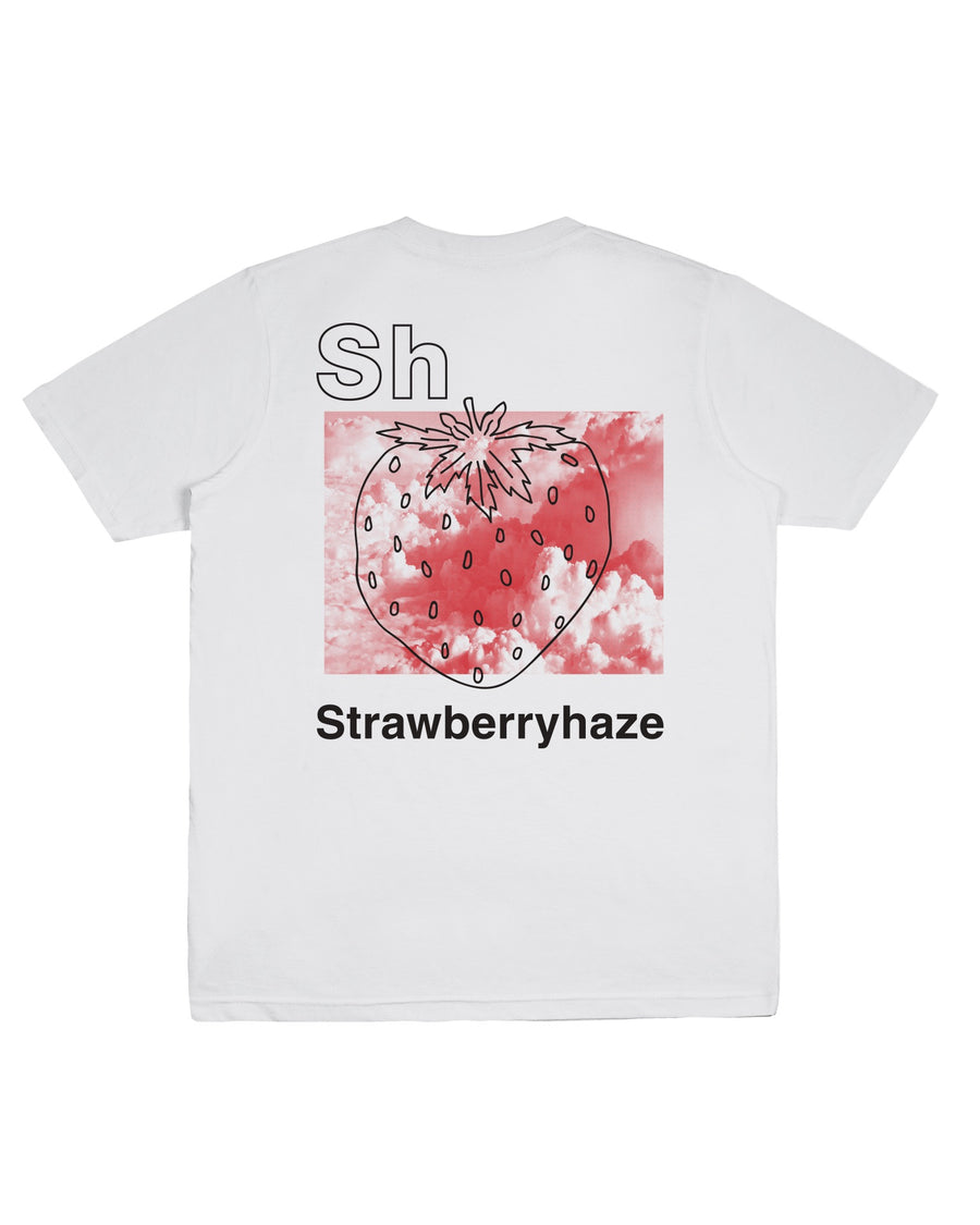 STRAWBERRY HAZE TEE WHITE F/W 20
