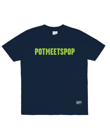LOGO TEE NAVY GREEN