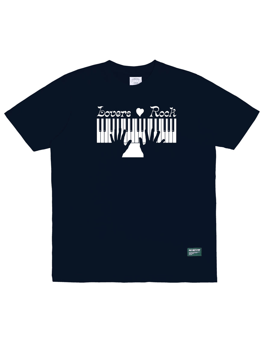 LOVERS ROCK TEE NAVY S/S 20