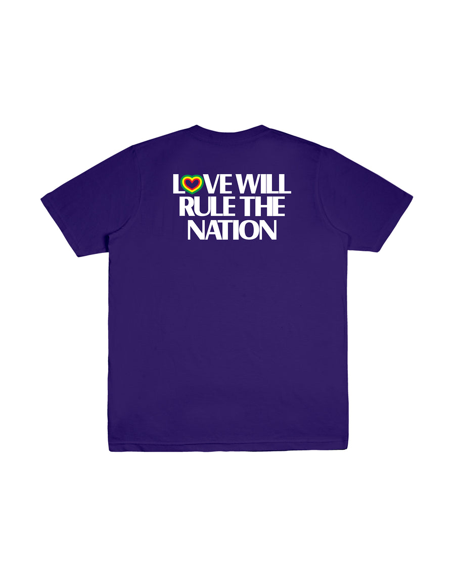 LOVE WILL RULE PURPLE F/W 18