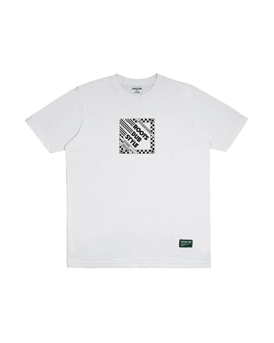ROOTS DUB STYLE TEE WHITE