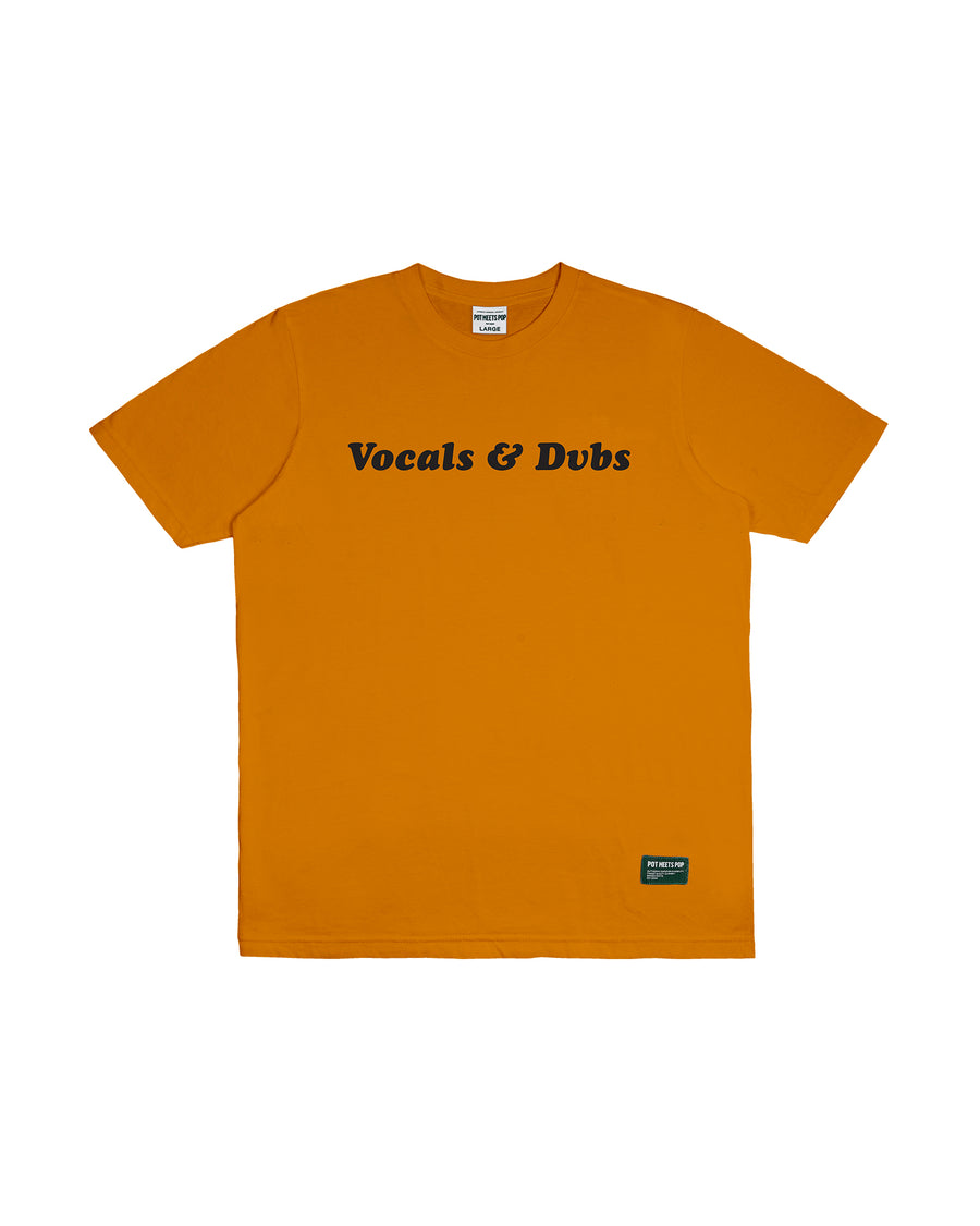 VOCAL & DUBS TEE YELLOW F/W 18
