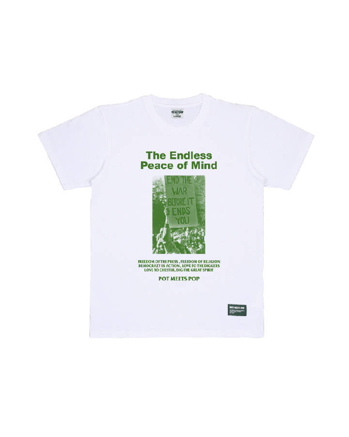 NO BORDERS TEE WHITE S/S 19