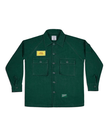 OVERSHIRT JACKET GREEN F/W 18
