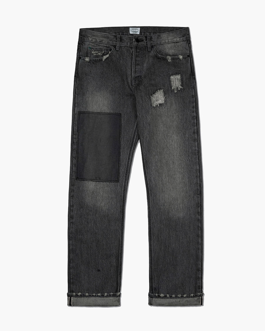 POTMEETSPOP/DOMINATE HAZE DISTRESSED PANT