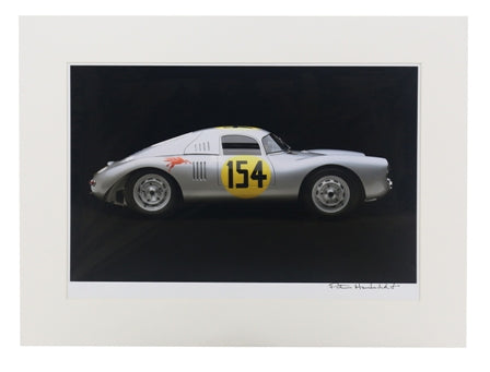 1953 Porsche 550-01 Coupe Matted Print