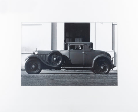 Bentley Speed Six 1930 - Original Tom Burnside Photographic Print