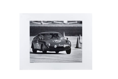 Abarth Simca, Fleming/Linton, Sebring 1964 - Original Tom Burnside Photographic Print