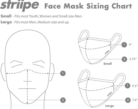 Martini Face Mask by Striipe Design