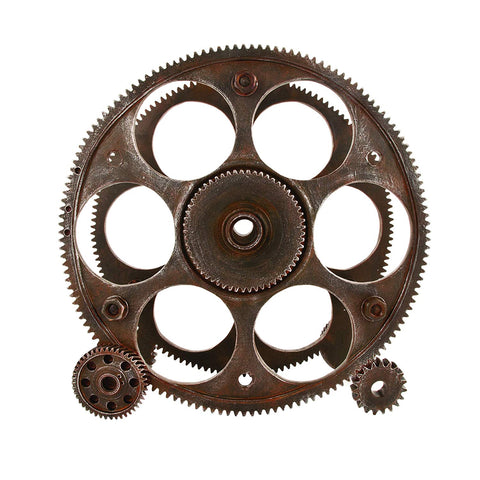 Gears & Wheels Wine Rack