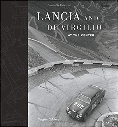 New Lancia and De Virgilio at the Center Book  Geoffrey Goldberg