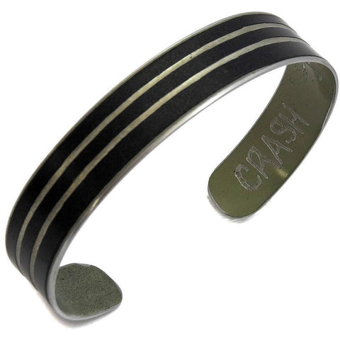 Mercedes G63 Striped Cuff Bracelet by CRASH Jewelry