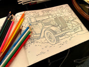 Motor & Chill - Grand Touring Sampler Coloring Book