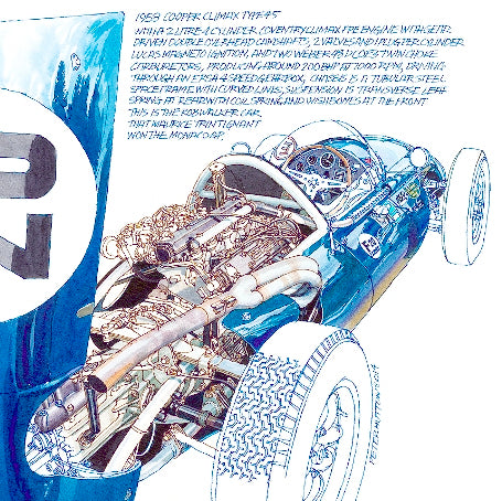 Note Card - 1958 Cooper Climax Type 45