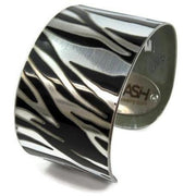 Porsche Zebra Cuff Bracelet  by CRASH Jewelry