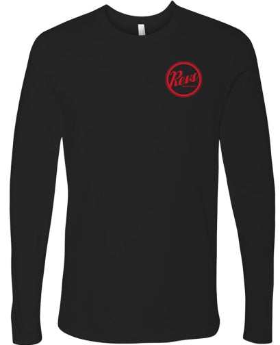 Revs Porsche Long Sleeve T-shirt - Black