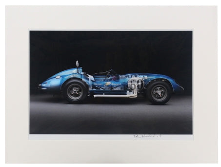 1958 Scarab Sports Racer Matted Print
