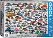 VW Beetle What's Your Bug 1000-Piece Puzzle