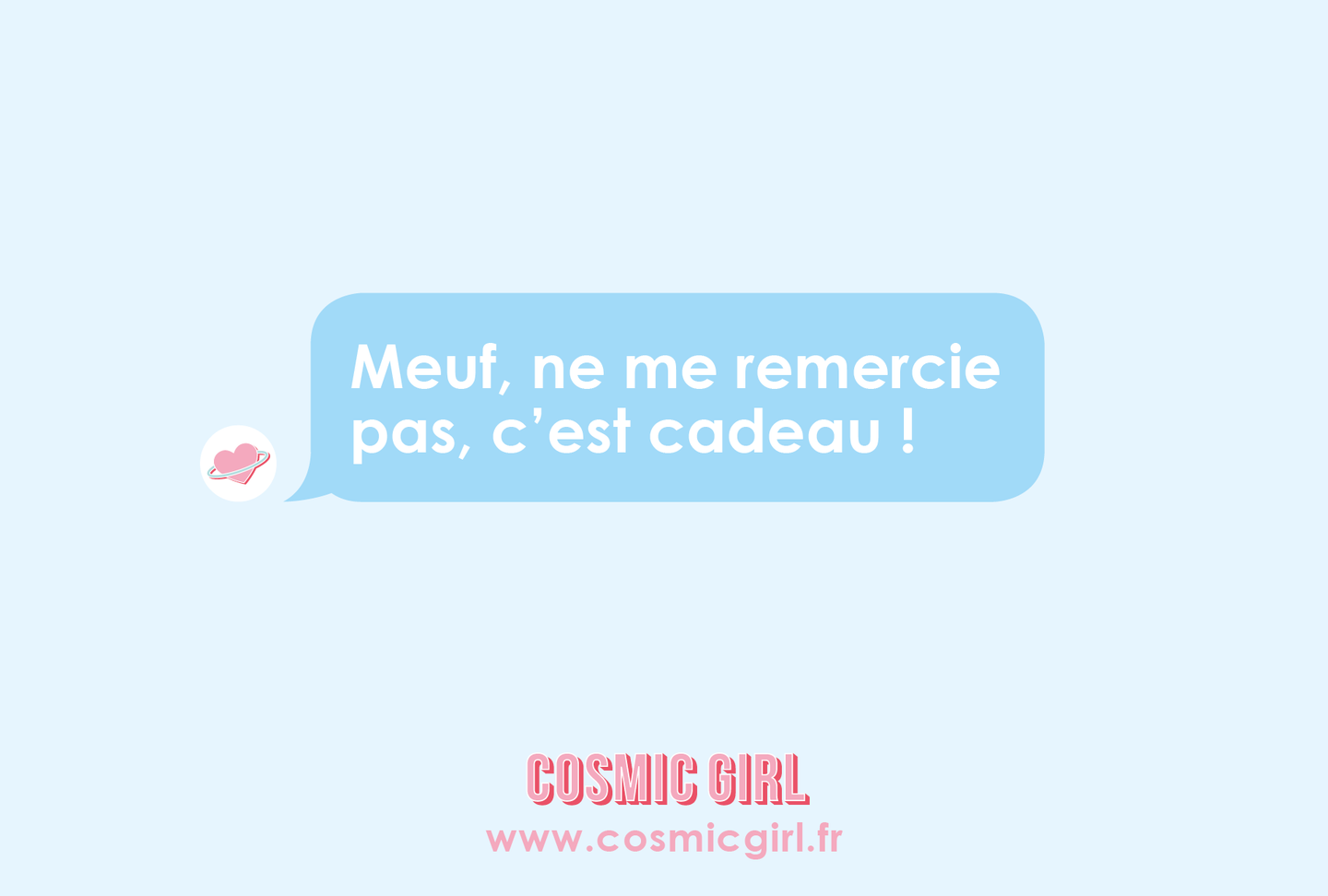 E-Carte Cadeau Cosmic Girl
