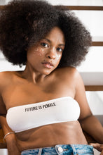 "Bandeau brodé ""Future is Female"""
