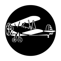 Apollo Aircraft Biplane Gobo