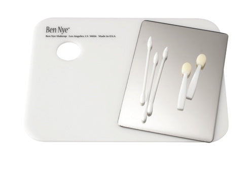 "Ben Nye Mixing Palette Stainless (3.5"" x 5"")"