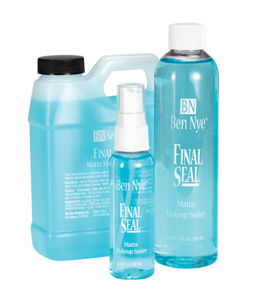 Ben Nye Final Seal Matte Makeup Sealer (Alcohol-based)