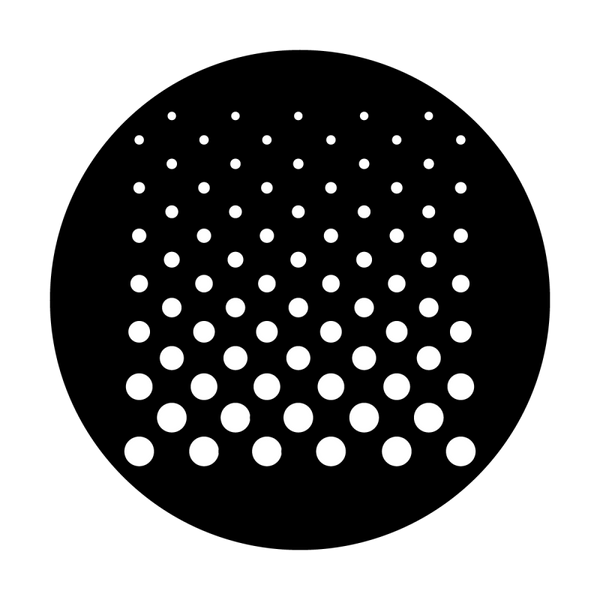 Apollo Cascade Dots Gobo