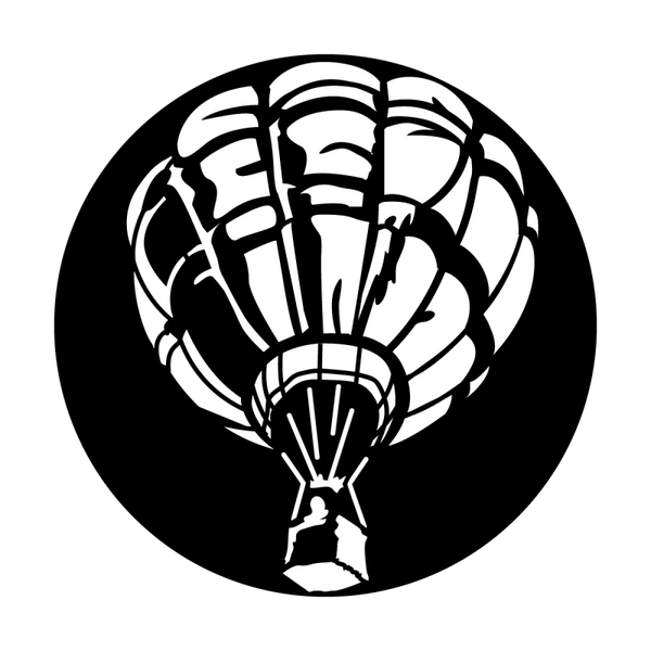 Apollo Aircraft Hot Air Balloon Gobo
