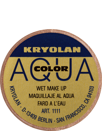 Kryolan Aquacolor Metallic Lining Color