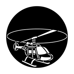 Apollo Aircraft Helicopter Gobo