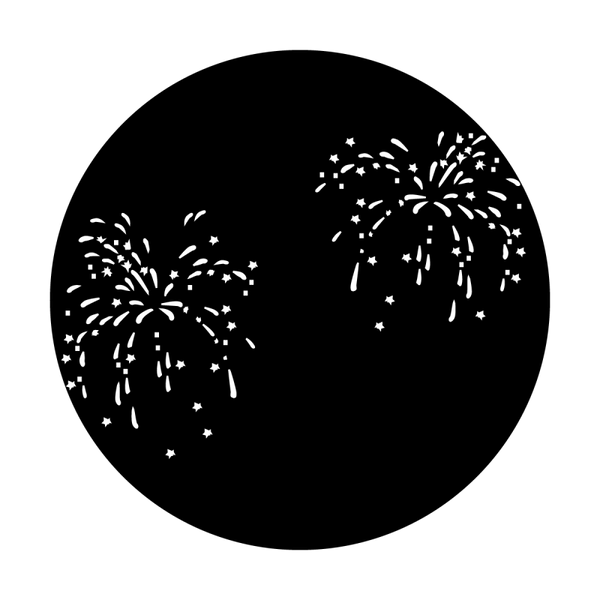 Apollo July Fourth Fireworks (Pair with MS-3007) Gobo