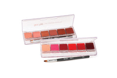Ben Nye Lip Color Fashion 6 Color Palette