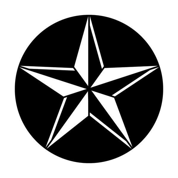 Apollo Star 3-D Gobo