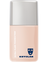 Kryolan Ultra Fluid Foundation - Color: 1W
