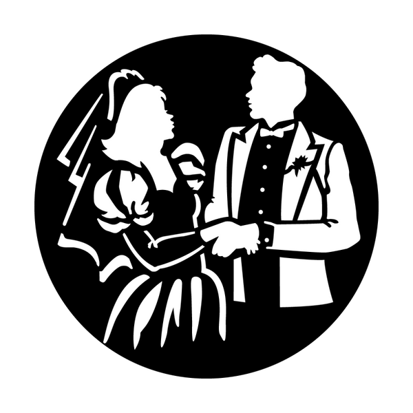 Apollo Bride and Groom Gobo